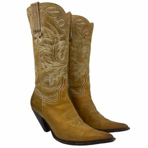 Charlie 1 Horse Tan Cowboy Boots